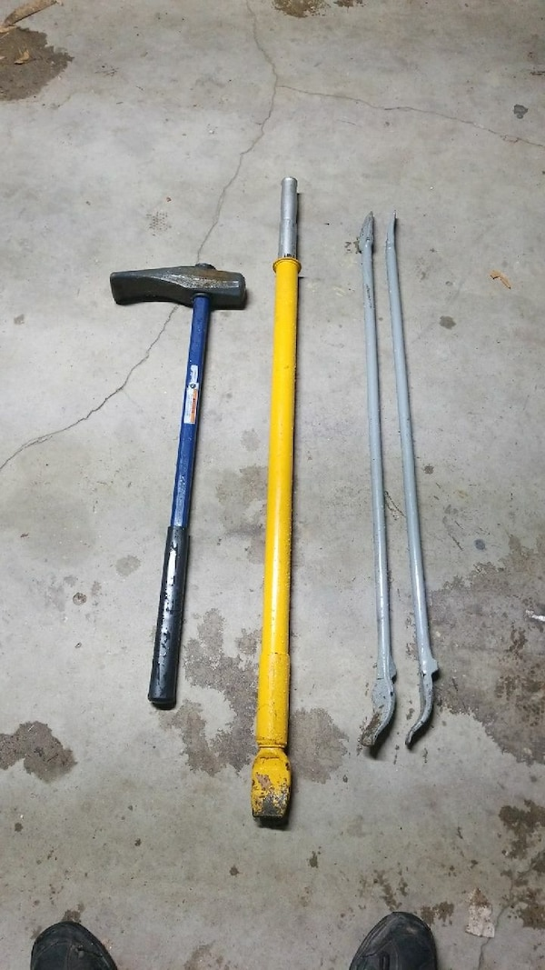 Tire removing tools