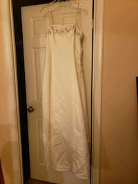 Off white formal , lace up the back dress Silver Spring, 20910