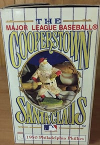 Phillies Cooperstown Santa Claus Lebanon