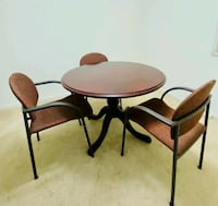 Round table with three chairs Gaithersburg, 20878