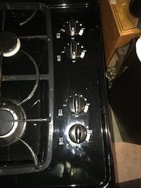 Maytag Gemini double oven gas kitchen stove