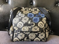 black and white floral Vera Bradley crossbody bag Mesa, 85213