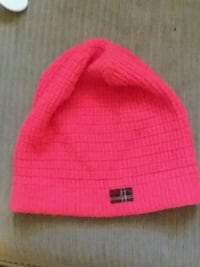 pink and yellow knit cap Manchester, 37355