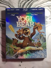 Yogi Bear blu-ray and DVD San Diego, 92103