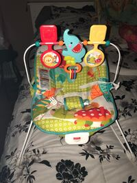 baby's multicolored Fisher-Price bouncer Montgomery, 36106