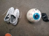 Bowling ball, bowling shoes size 11 and wrist grd Elizabethtown, 17022
