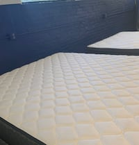 New in plastic mattress