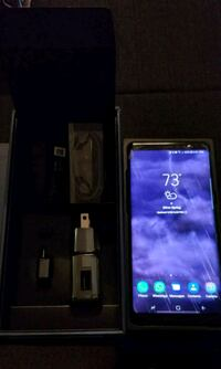 black Samsung Galaxy Android smartphone with box Silver Spring, 20906