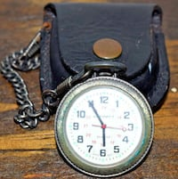 AFFINITY POCKET WATCH WITH LEATHER CASE