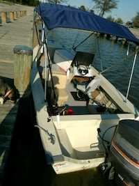 16 ft Grumman boat side console with 90hp Mariner  Leesburg, 20176