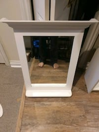 Great White Bathroom or Vanity Mirror with Shelf Toronto, M4X 1C3