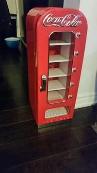 red and gray wooden cabinet Hamilton