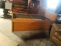 Captain's bed with 4 drawers