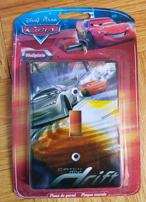 Disney's: Cars - Wallplate (Catch my Drift)  54779a18-1884-4647-bef8-80ac7400753e