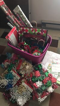 assorted color Christmas gifting items