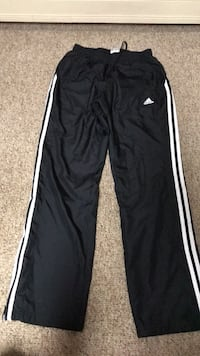 black and white Adidas track pants Schererville, 46375