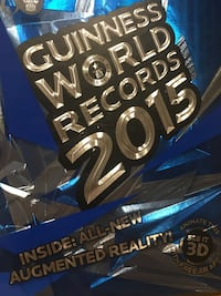 Guinness world records 2015 book Winnipeg, R3N