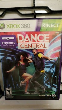 Xbox 360 kinect dance central New Cumberland, 17070