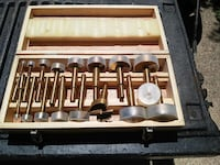 brown tool kit in case Temple Hills, 20748