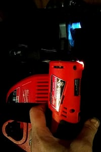 red and black Milwaukee cordless power drill Everett, 98204