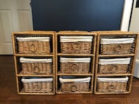 Rattan Storage Drawers ASHBURN