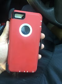 red and black iPhone case Ocala, 34472