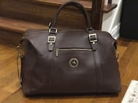 Pure Full Grain Leather Oversized Duffle Bag ((Brand New)) Richmond Hill