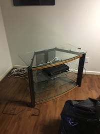 Glass TV stand Woodstock, 30188