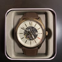 BRAND NEW LUXURY FOSSIL WATCH W TAGS Cambridge