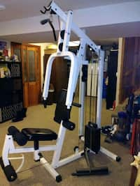 Used Heartline Circuit Training Home Gym Exercise Equipment