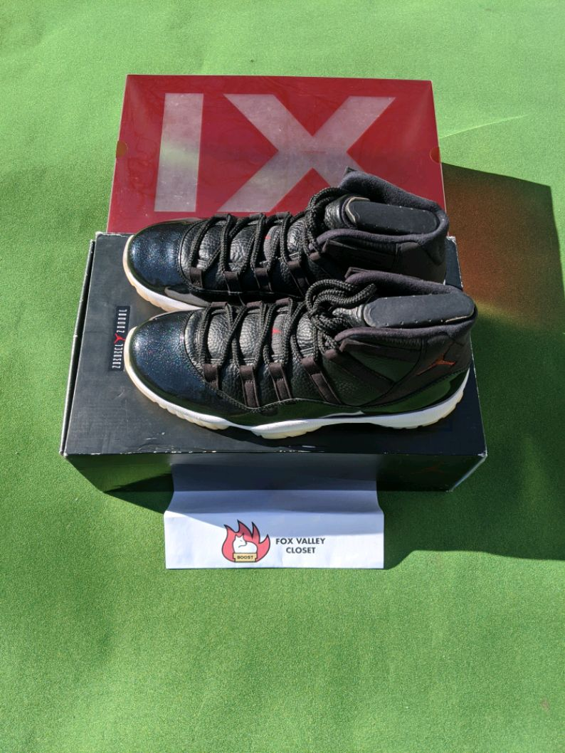 Photo Nike Jordan 11 Retro 72-10 Size 10.5