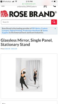 Glassless 4'x8' Mirrors MUST SELL! WILL CONSIDER ANY OFFER! 398 mi