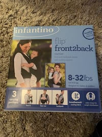 Infantino front2back baby carrier