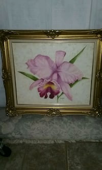 Original oil painting with solid wood frame Conyers