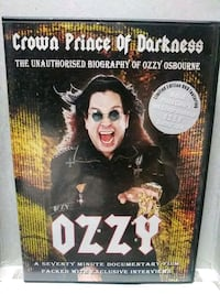 Crown Prince of Darkness Ozzy dvd Baltimore