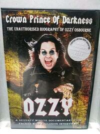 Crown Prince of Darkness Ozzy dvd