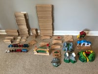BRIO train tracks (140 pieces) Bethesda, 20816