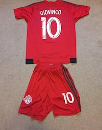 Sebastian Giovinco TFC Jersey and shorts  Guelph, N1E 5T5