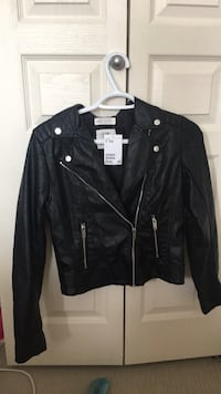 Leather jacket with tag  Edmonton, T6X 0K8