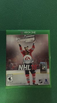 Xbox one nhl 16 game case