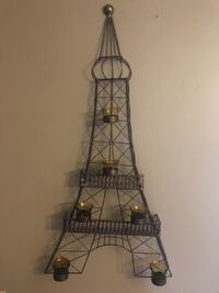 METAL EIFFEL TOWER CANDLE HOLDER North Dumfries, N0B