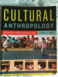 Cultural anthropology textbook