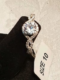 925 SILVER SIZE 10 RING 3151 km