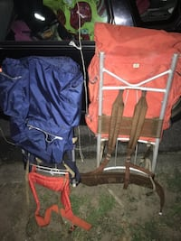 Hiking back packs only 25 each FIRM.