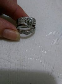 silver-colored diamond ring Banning, 92220