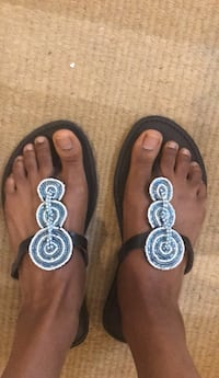 Hand beaded  Kenyan  Sandals Atlanta, 30308