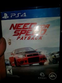 NEED FOR SPEED PAYBACK PS4 Brantford, N3S 6H5