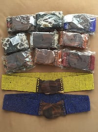 Beaded belts from Bali Pinecrest, 33156