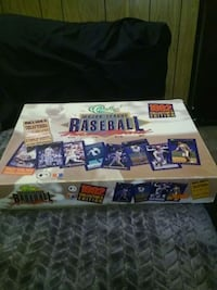 1992 collectors edition Baseball Trivia Board Game