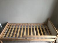 Baby crib ,change table and toddler bed